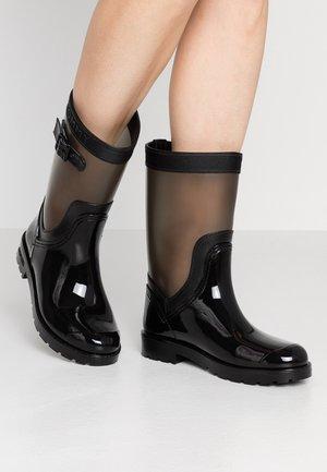 DETAIL RAIN BOOT - Regenlaarzen - black