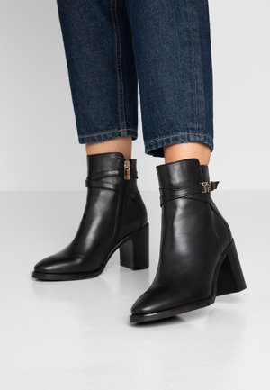 TH HARDWARE HIGH BOOTIE - Classic ankle boots - black