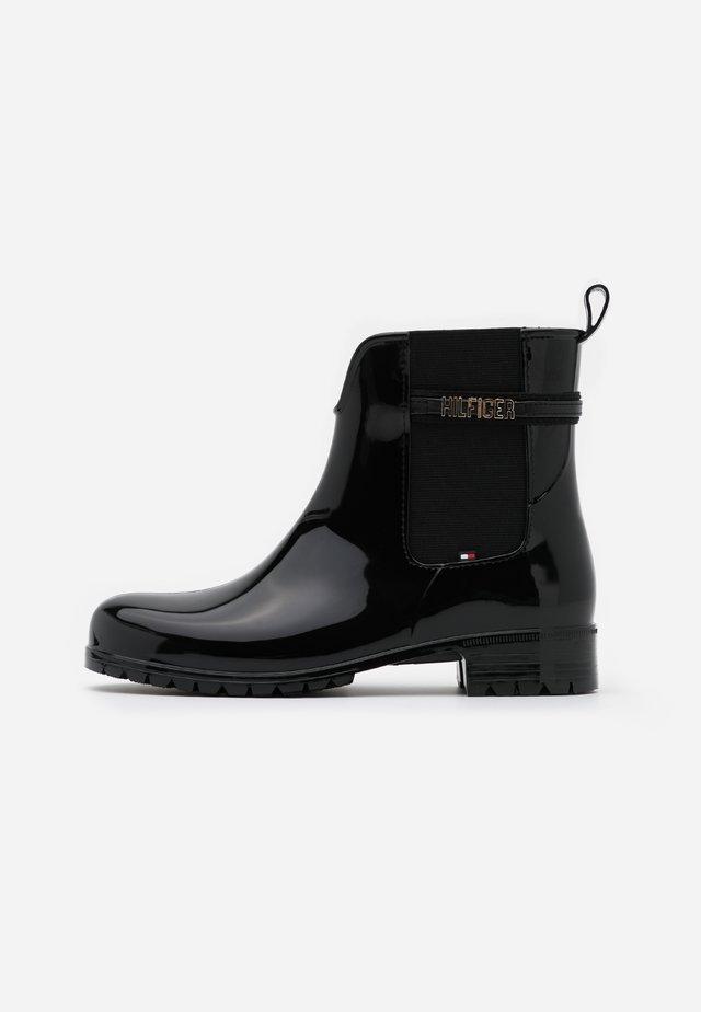 BLOCK BRANDING RAINBOOT - Gummistøvler - black