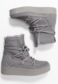 Tommy Hilfiger - COSY BOOTIE - Winter boots - grey - 3