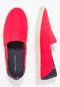 Tommy Hilfiger - EASY SUMMER - Espadrilles - tango red - 1
