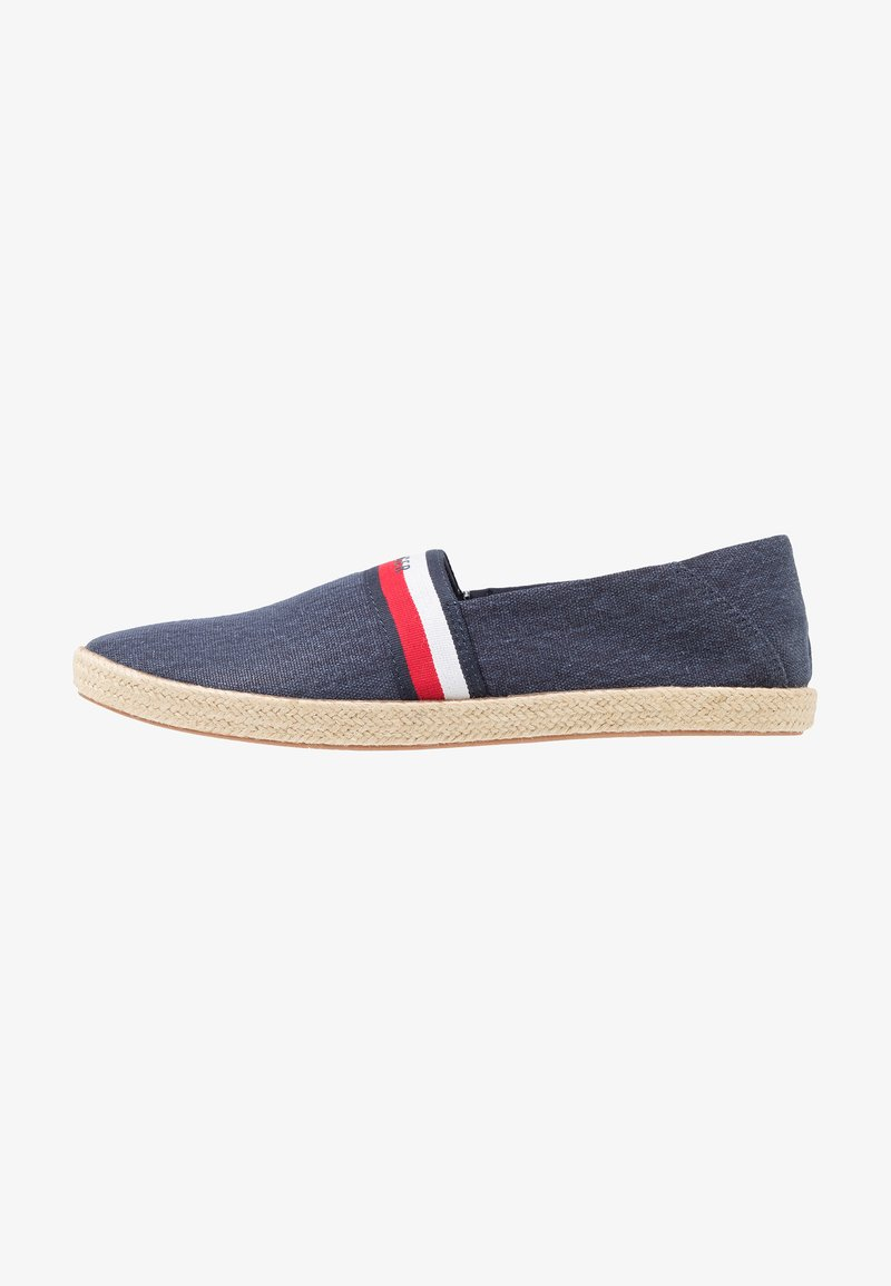 Tommy Hilfiger - SUMMER SLIPON - Espadrille - blue