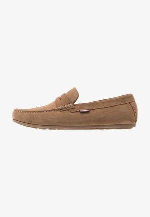 CLASSIC PENNY LOAFER - Mokasyny - beige