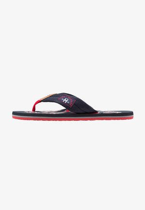 HERREN - T-bar sandals - marine