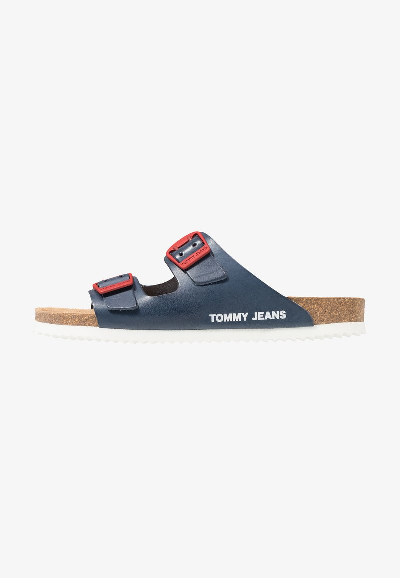 Tommy Jeans - BUCKLE  - Mules - blue