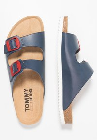 Tommy Jeans - BUCKLE  - Mules - blue - 1