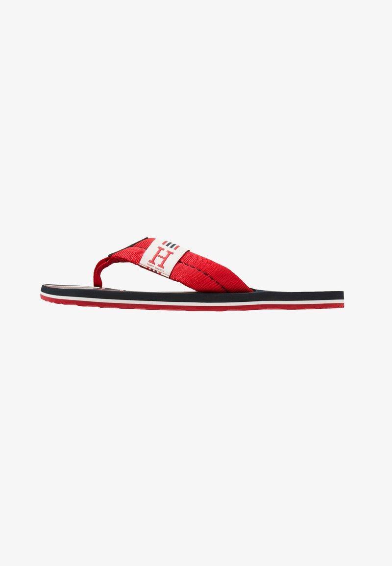 Tommy Hilfiger - BADGE BEACH - T-bar sandals - red