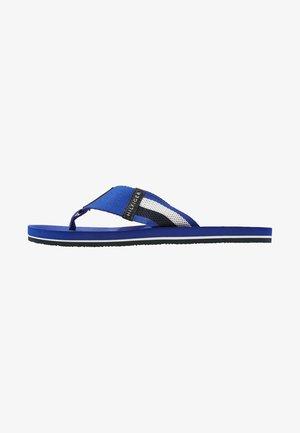 CORPORATE STRIPE BEACH - Sandalias de dedo - blue