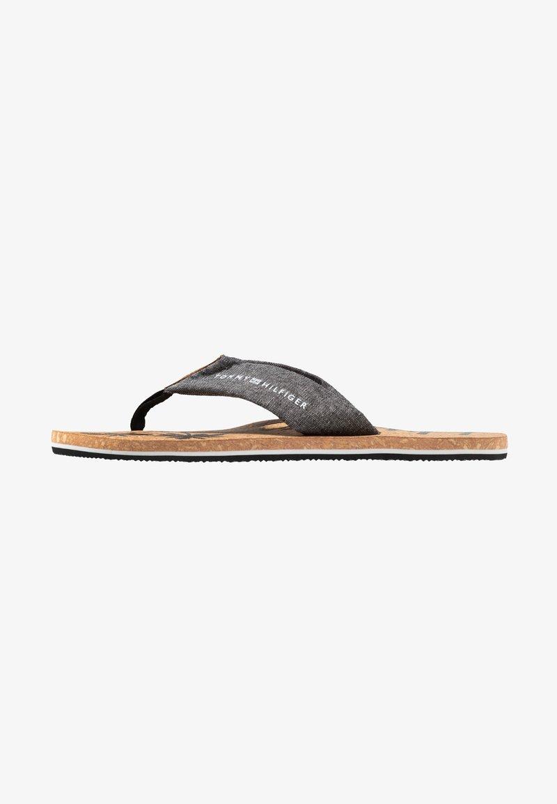 Tommy Hilfiger - BEACH - T-bar sandals - black