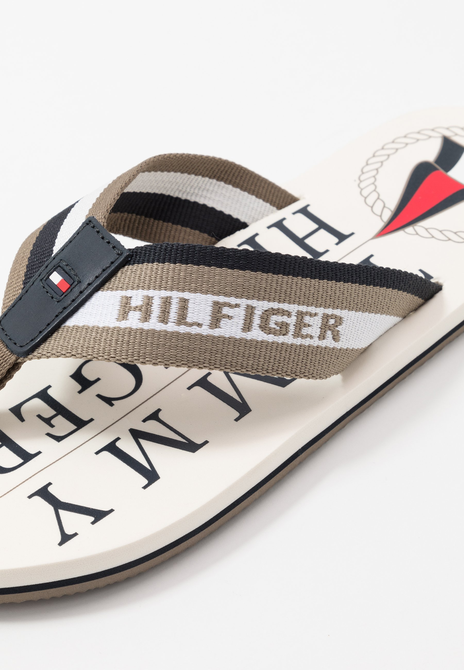 Tommy Hilfiger MARITIME BEACH - Tongs - brown