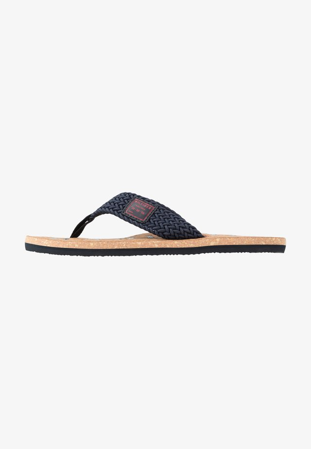 CASUAL BEACH  - T-bar sandals - blue