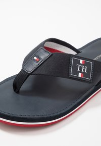 Tommy Hilfiger - ELEVATED BEACH - T-bar sandals - blue - 5