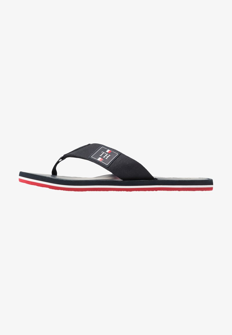 Tommy Hilfiger - ELEVATED BEACH - T-bar sandals - blue