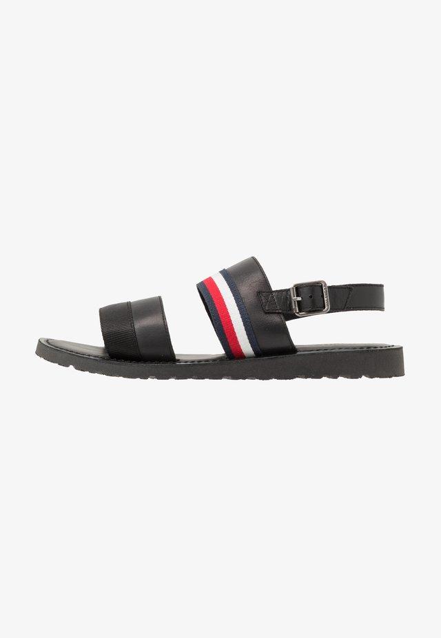 CORPORATE STRAP - Sandalen - black