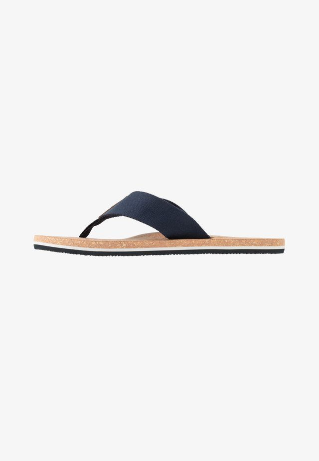 SIGNATURE BEACH - Sandalias de dedo - blue