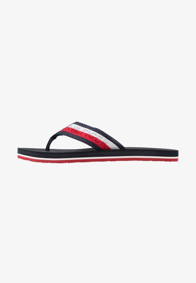 COMFORT BEACH - T-bar sandals - blue