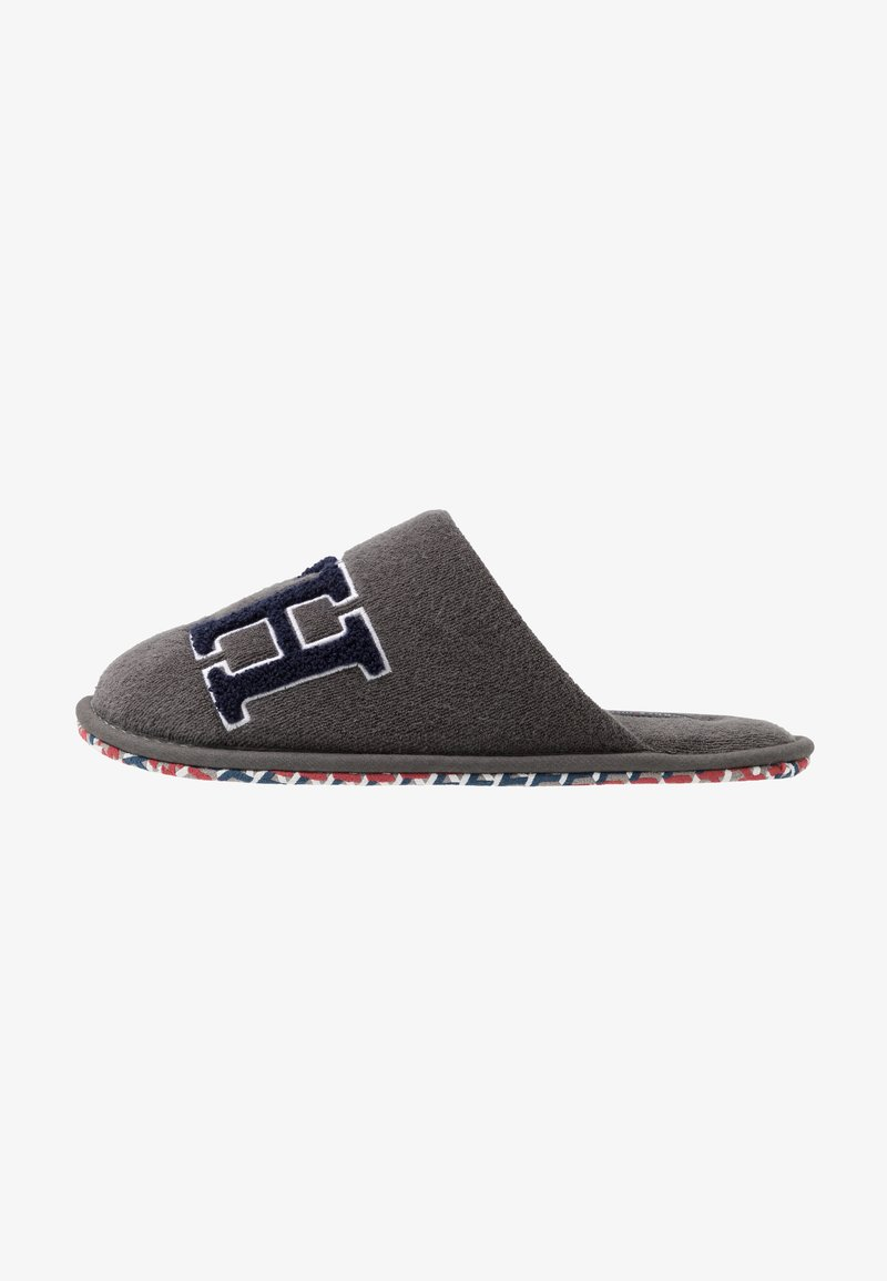 Tommy Hilfiger - LOGO HOMESLIPPER - Chaussons - grey