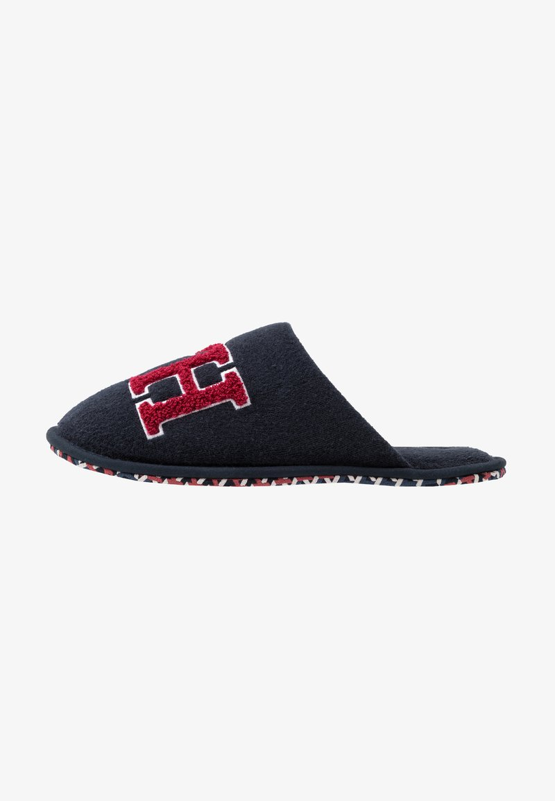 Tommy Hilfiger - LOGO HOMESLIPPER - Chaussons - blue