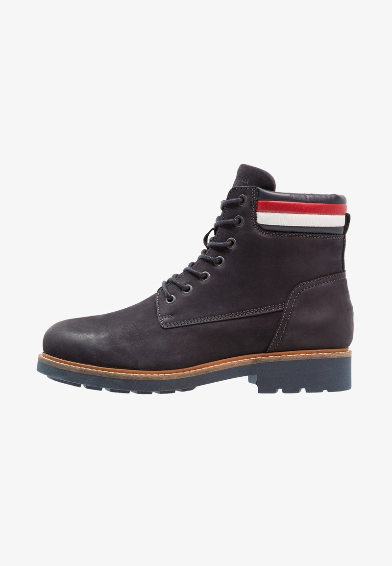 Tommy Hilfiger - PATRICK - Lace-up ankle boots - midnight