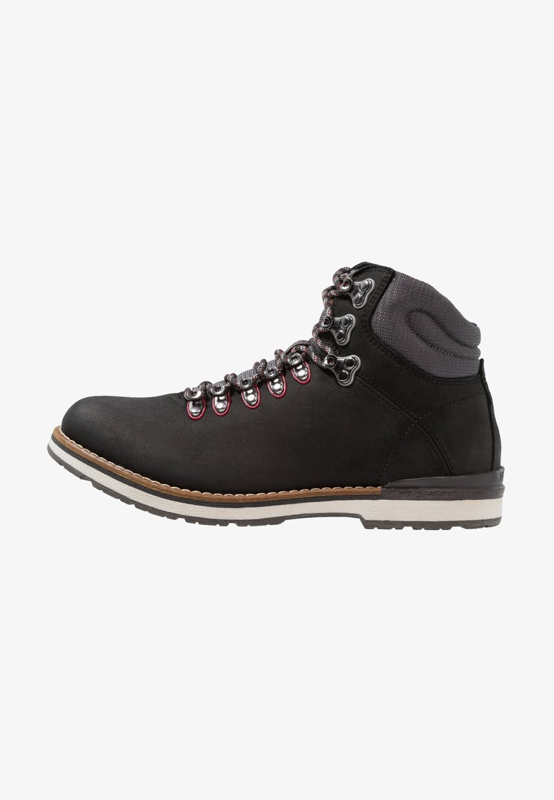 Tommy Hilfiger - OUTDOOR HIKING DETAIL BOOT - Lace-up ankle boots - black