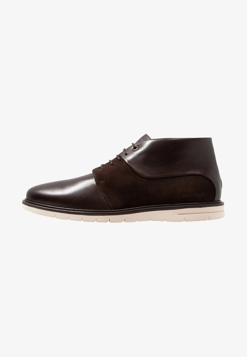 Tommy Hilfiger - HYBRID BOOT - Casual lace-ups - brown