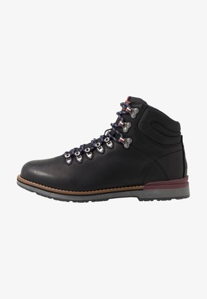 OUTDOOR HIKING LACE BOOT - Bottines à lacets - black
