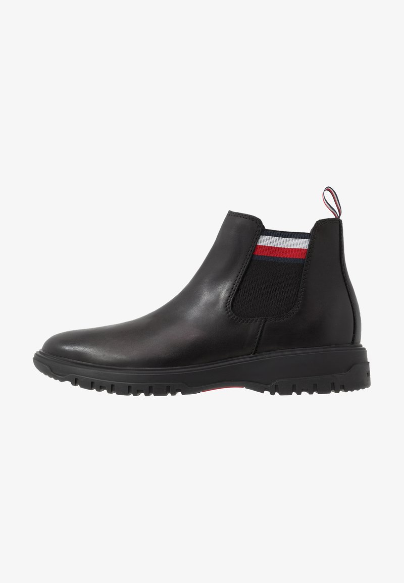 Tommy Hilfiger - CLEATED OUTSOLE CHELSEA BOOT - Stiefelette - black