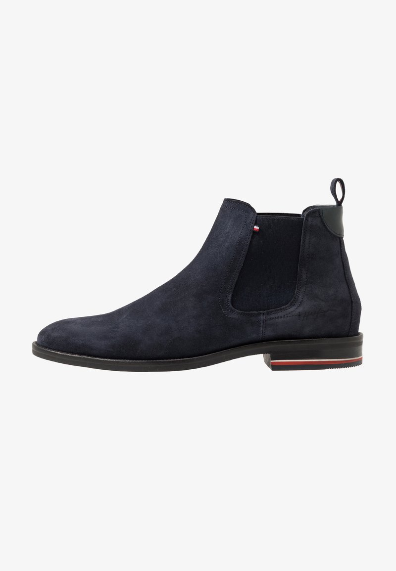 Tommy Hilfiger - SIGNATURE CHELSEA - Classic ankle boots - blue