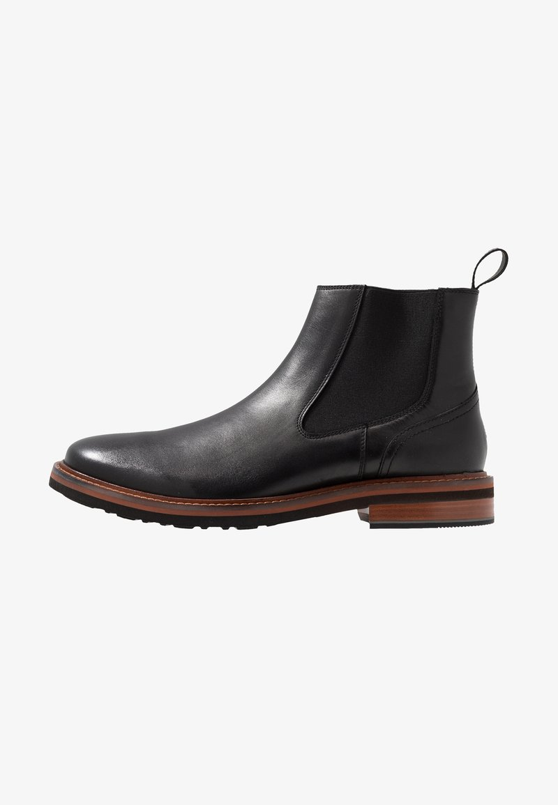 Tommy Hilfiger - SMOOTH CHELSEA BOOT - Stiefelette - black