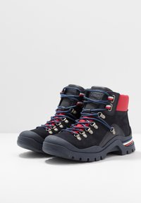 Tommy Hilfiger - CORPORATE OUTDOOR BOOT - Botines con cordones - blue - 2