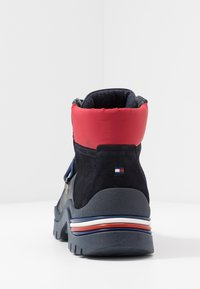 Tommy Hilfiger - CORPORATE OUTDOOR BOOT - Botines con cordones - blue - 3
