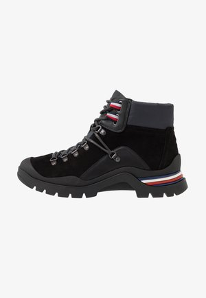 CORPORATE OUTDOOR BOOT - Nauhalliset nilkkurit - black