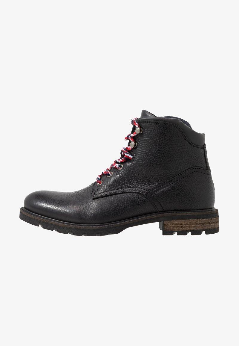 Tommy Hilfiger - BOOT - Šněrovací kotníkové boty - black