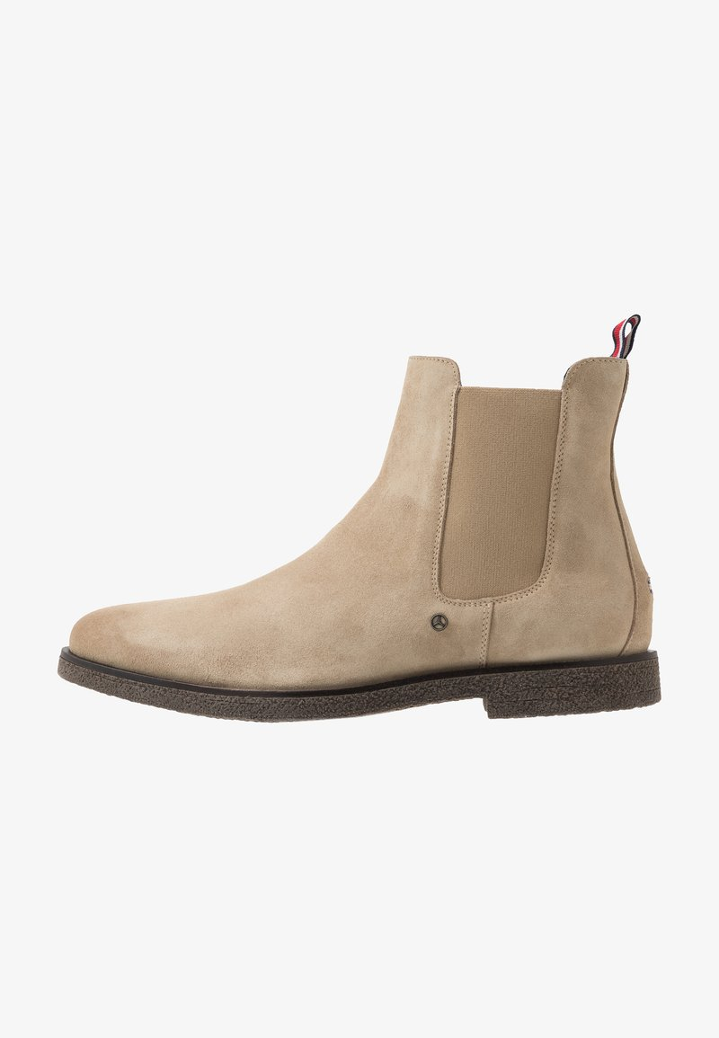 Tommy Hilfiger - TOMMY X MERCEDES-BENZ CHELSEA BOOT - Classic ankle boots - beige