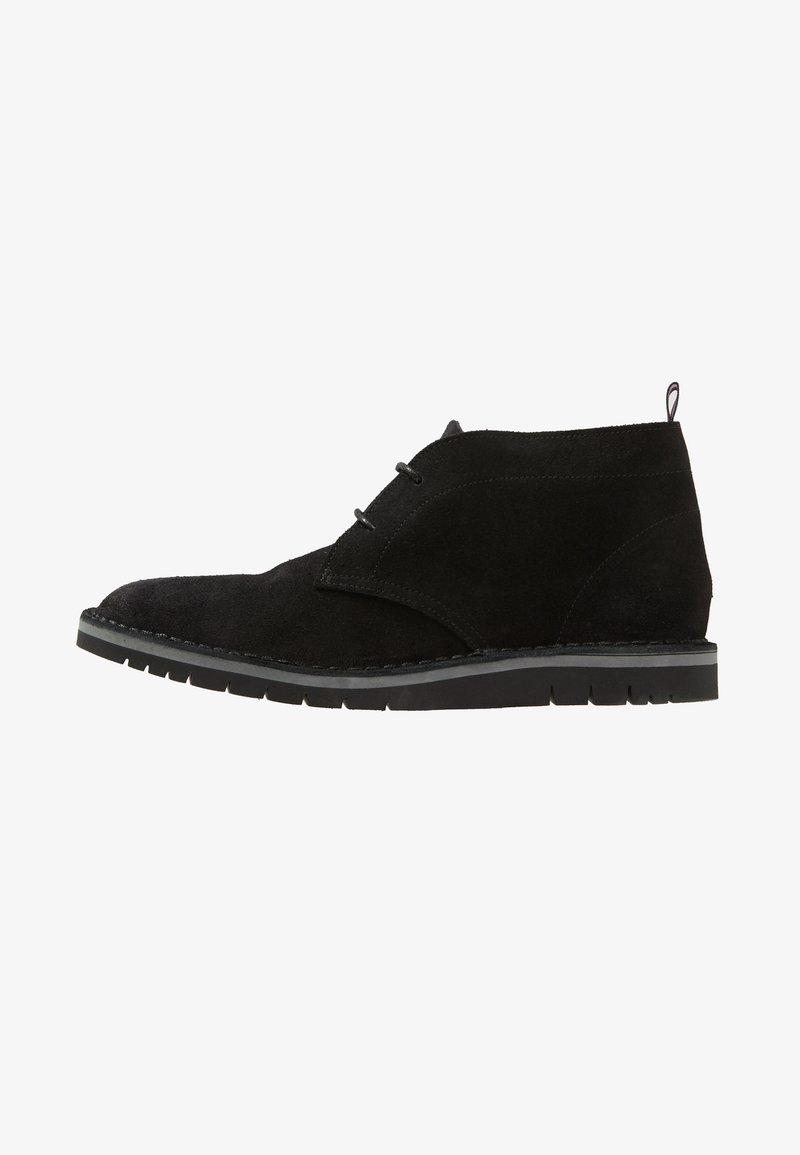 Tommy Hilfiger - DESERT BOOT - Chaussures à lacets - black