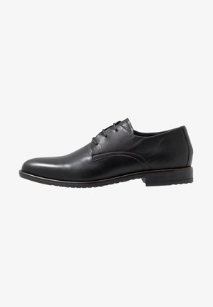 CORE LACE UP SHOE - Eleganta snörskor - black