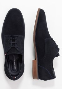 Tommy Hilfiger - TOMMY X MERCEDES-BENZ CASUAL LACE SHOE - Lace-ups - blue - 1