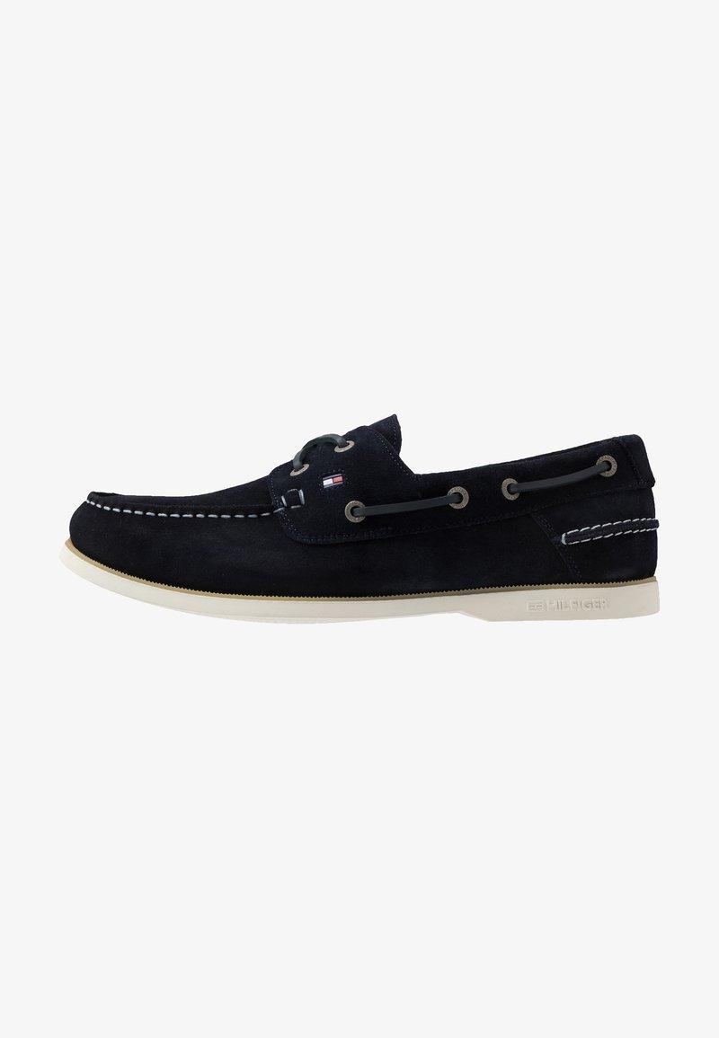Tommy Hilfiger - CLASSIC - Chaussures bateau - blue