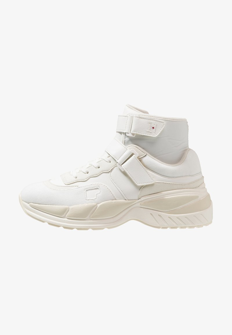 Tommy Hilfiger - LEWIS HAMILTON CHUNKY  - High-top trainers - white
