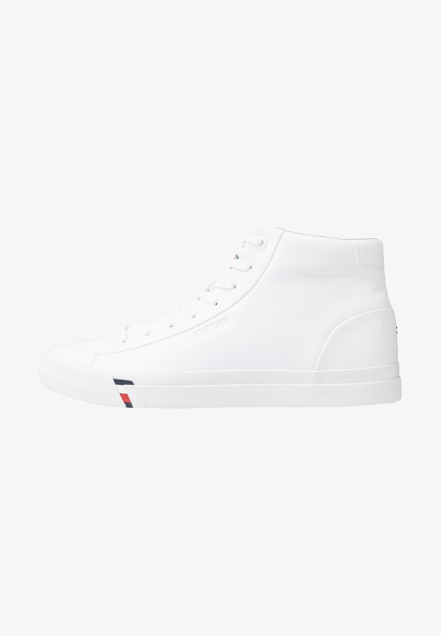 CORPORATE - High-top trainers - white