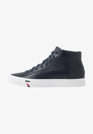 CORPORATE - High-top trainers - blue
