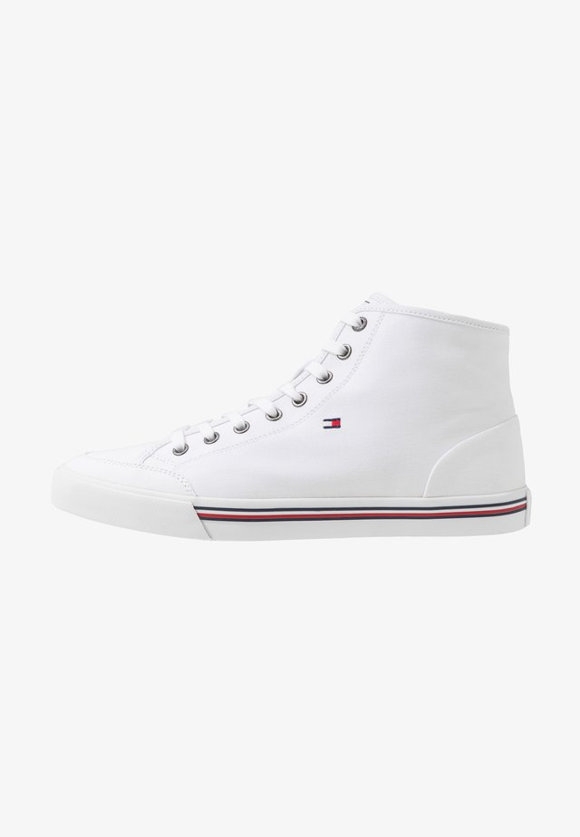 CORE CORPORATE - Sneakersy wysokie - white