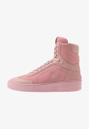 LEWIS HAMILTON MODERN HIGH TOP SNEAKER - Vysoké tenisky - pink