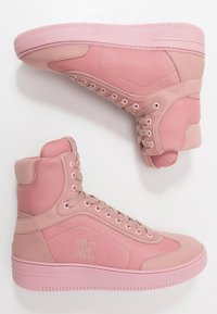 Tommy Hilfiger - LEWIS HAMILTON MODERN HIGH TOP SNEAKER - Baskets montantes - pink - 3