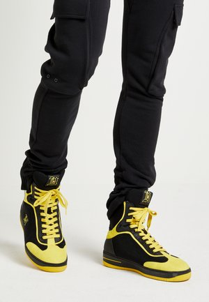 LEWIS HAMILTON MODERN HIGH TOP SNEAKER - Korkeavartiset tennarit - black