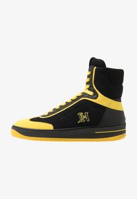 Tommy Hilfiger - LEWIS HAMILTON MODERN HIGH TOP SNEAKER - Korkeavartiset tennarit - black - 1
