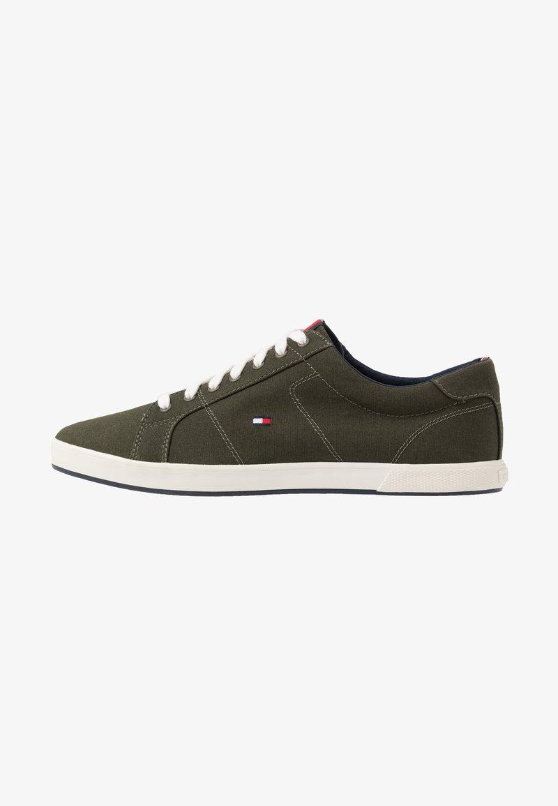 Tommy Hilfiger - ICONIC LONG LACE - Sneakersy niskie - khaki