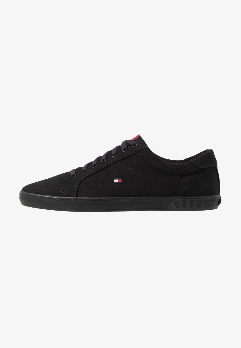 Tommy Hilfiger - ICONIC LONG LACE - Sneakersy niskie - black