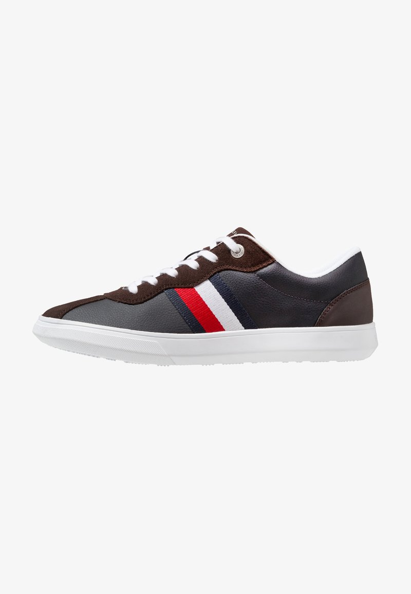 Tommy Hilfiger - ESSENTIAL CORPORATE CUPSOLE - Sneaker low - brown