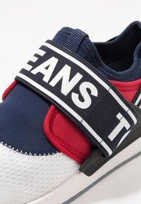 Tommy Jeans - FLEXI - Loaferit/pistokkaat - red - 6